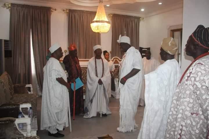 HRM Oba Olatunji Olatunde at the palace of Onirisa The Oni of Ife 2