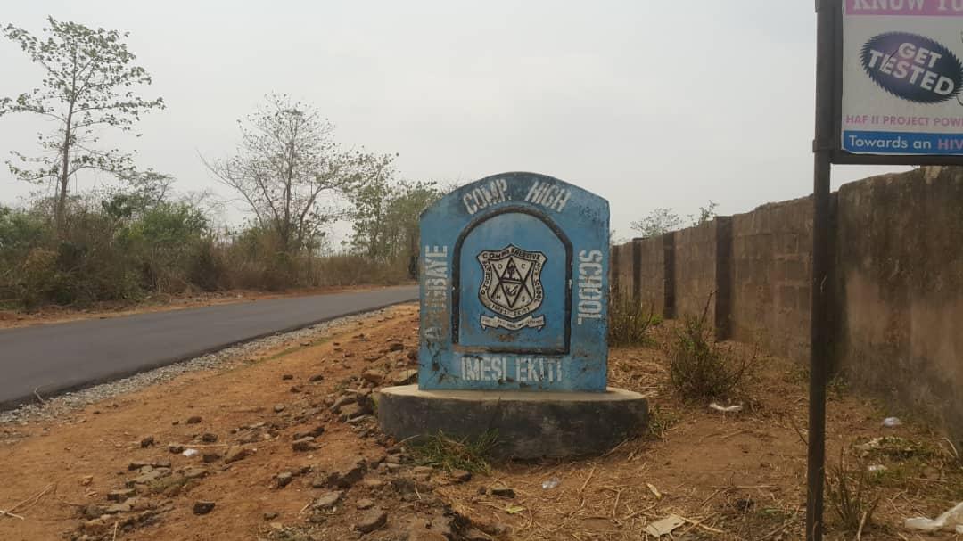 Ojugbaye Comprehensive High School the first high school in Imesi ekiti
